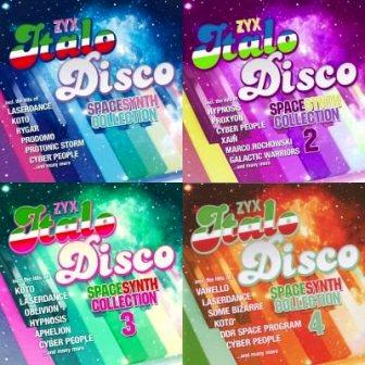 ZYX Italo Disco Spacesynth Collection 1-4 [8CD, Compilation]