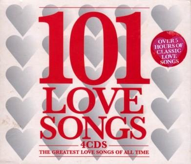 101 Love Songs. 4CDS The Greatest Love Songs of all Time