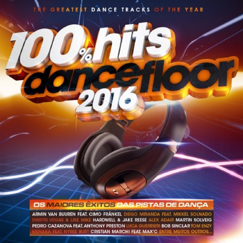 100 Hits Dancefloor 2016 [2CD]