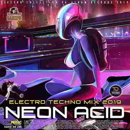 Neon Acid: Electronic Techno Mix