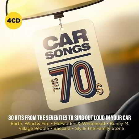 Car Songs – The 70s [4CD]