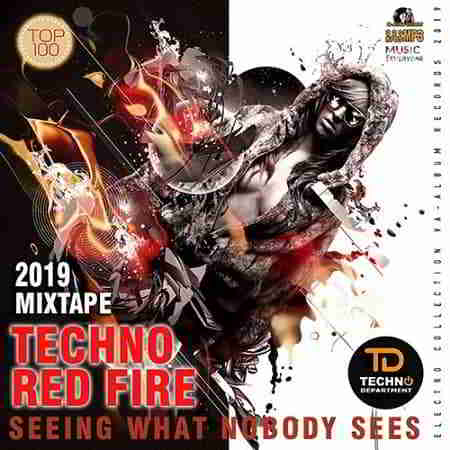 Techno Red Fire