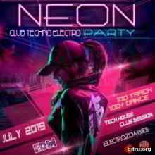 Neon Electro Techno Party (2019) торрент