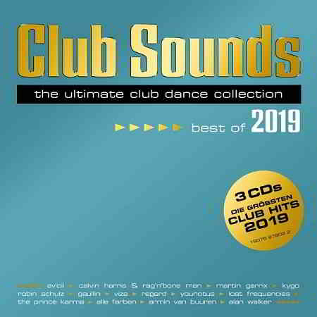 Club Sounds: Best Of 2019 [3CD] (2019) торрент