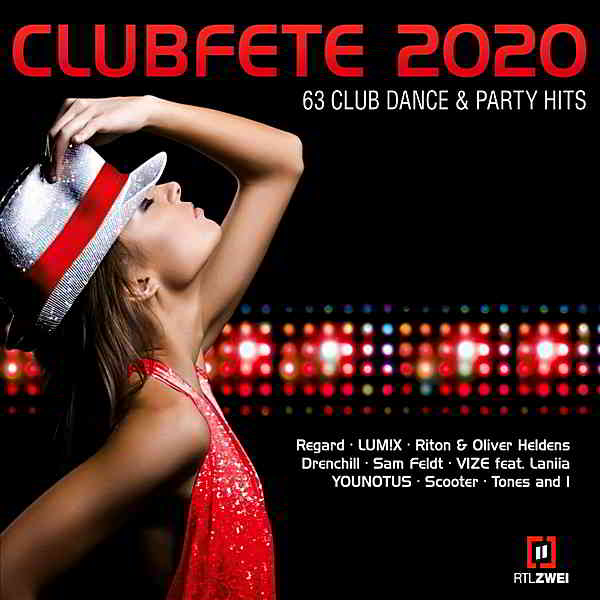 Clubfete 2020: 63 Club Dance & Party Hits [3CD]