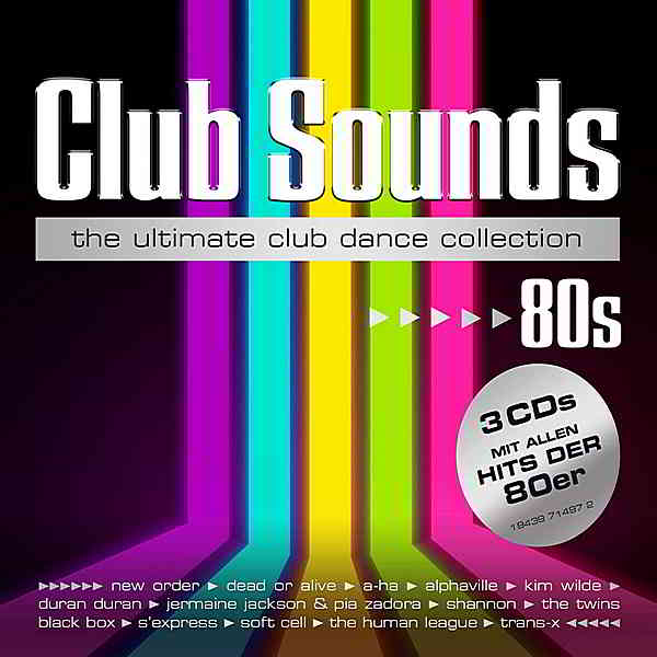 Club Sounds 80s [3CD] (2020) торрент