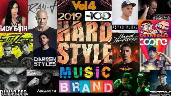 Сборник клипов - Hardstyle Music Brand. Vol. 4. [100 Music videos] (2020) торрент