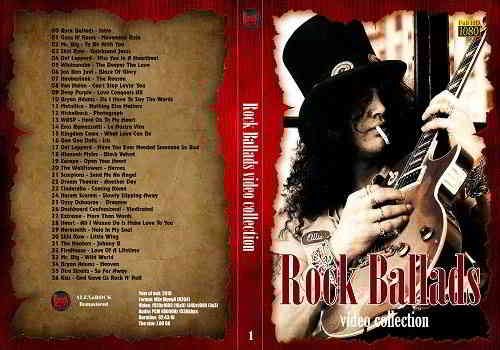 Сборник клипов - Rock Ballads Video Collection Part 1 (2020) торрент