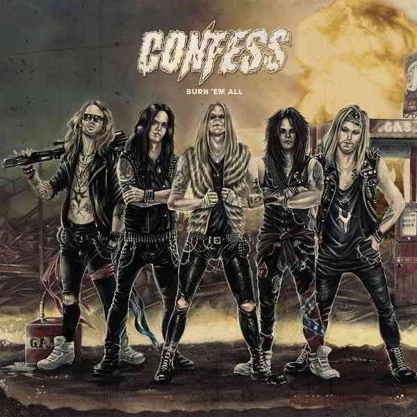 Confess - Burn 'em All (2020) торрент