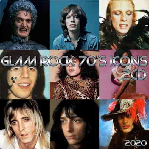 Glam Rock 70's icons (2CD)