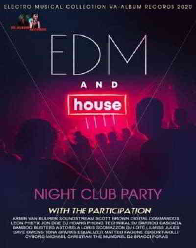 EDM And House: Night Club Party (2020) торрент