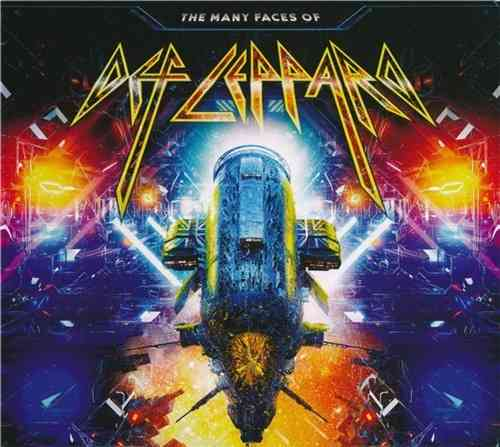 The Many Faces Of Def Leppard [3 CD Set] (2020) торрент