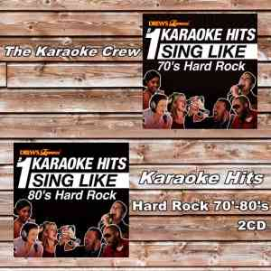 The Karaoke Crew - Drew's Famous #1 Karaoke Hits Sing Like 70'-80's Hard Rock (2CD) (2012) торрент