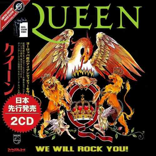 Queen - We Will Rock You! (2CD Compilation) (2021) торрент